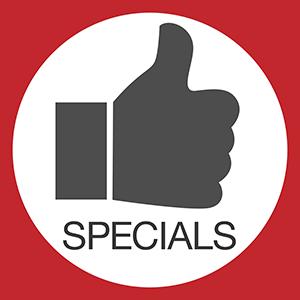 Specials and Deals
