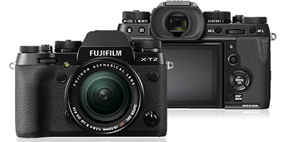 Fujifilm X-T2 Mirrorless 24-Megapixel Camera