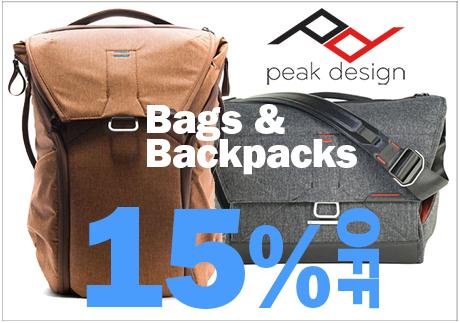 Peak Design Savings!