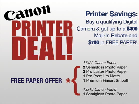 Canon Pro 1000 Printer Deal