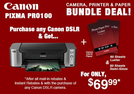 Canon Pro100 Printer Deal