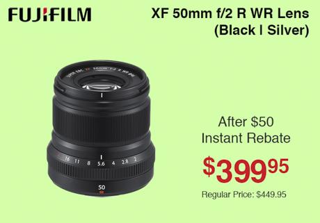 Fujifilm XF 50mm
