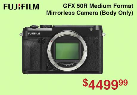 Fujifilm GFX 50R Medium Format Camera Body
