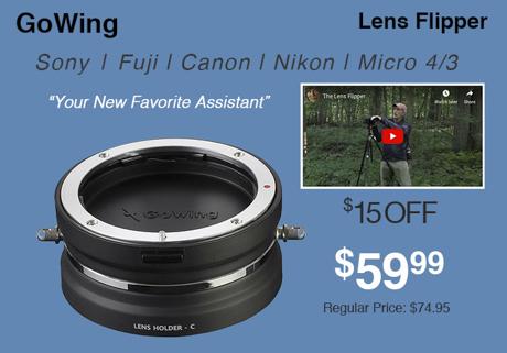 GoWing Lens Flipper
