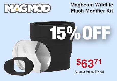 Magmod Magbeam Wildlife Flash Modifier Kit