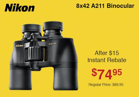 Nikon Aculon 8x42 Binocular