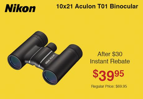 Nikon Aculon 10x21
