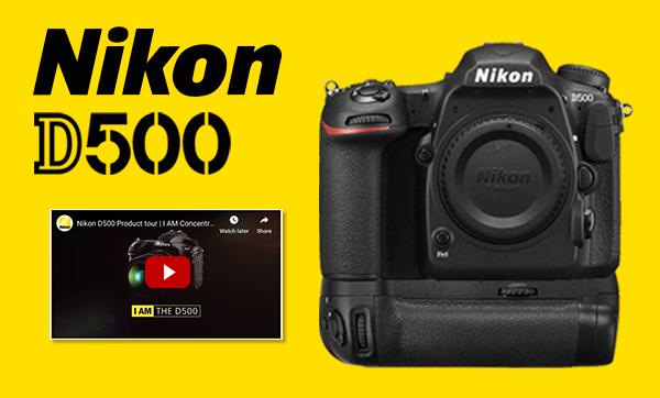 Nikon D500 + Free Grip