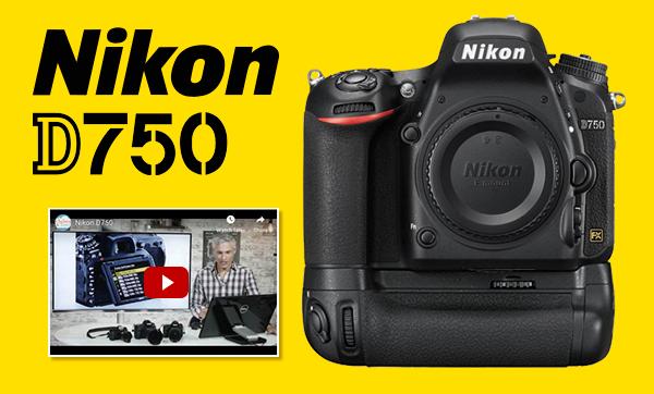 Nikon D750 + Free Grip