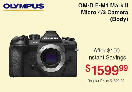Olympus E-M1 Mark II Camera Body