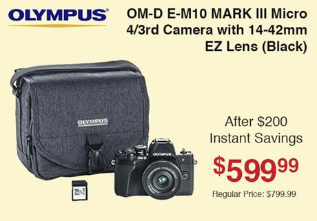 Olympus E-M10 Mark III Kit