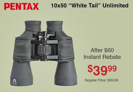 Pentax 10x50 White Tail