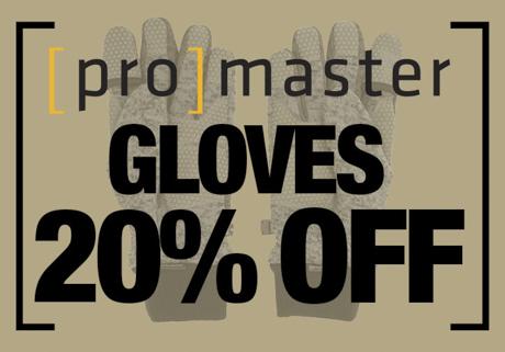 Promaster Gloves on Sale