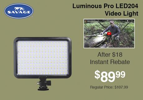 Savage luminous Pro LED204