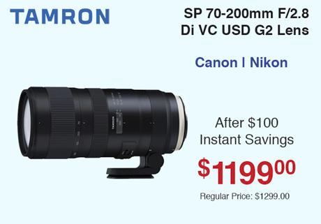 Tamron 70-200mm G2
