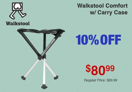 Walkstool Comfort w/ Carry Case