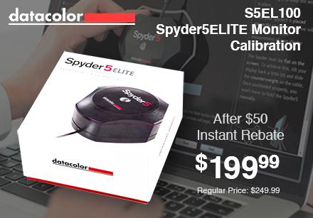 Datacolor S5EL100 Spyder5Elite Monitor Calibration