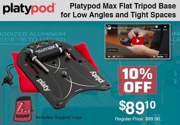Platypod Max Tripod Base