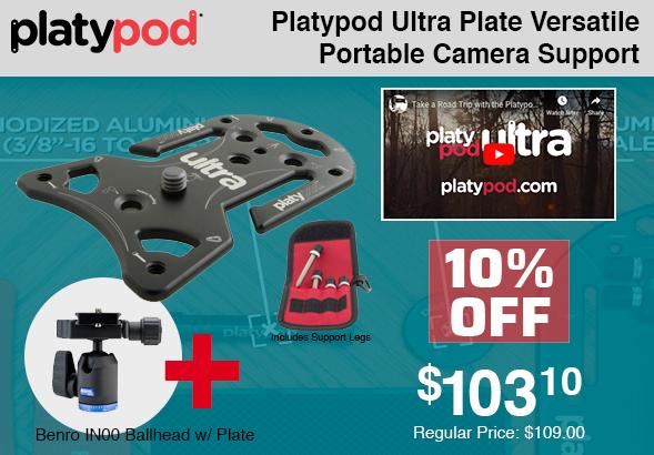 Platypod Ultra Plate Camera Support