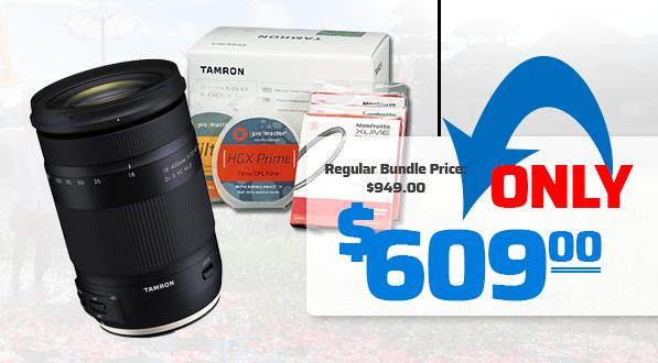 Tamron Savings Bundle with Filters