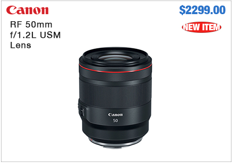 Canon RF 50mm Lens