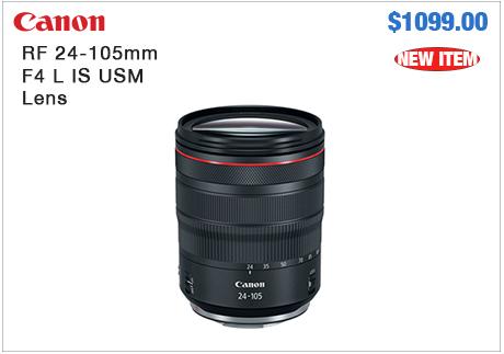 Canon RF 24-105mm Lens