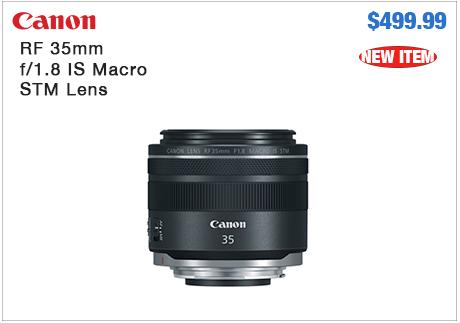 Canon RF 35mm Macro Lens