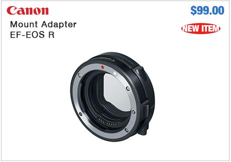 Canon Mount Adaptor EF-EOS R