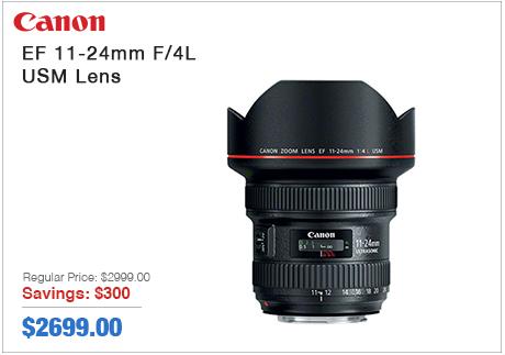 Canon EF 11-24mm USM Lens