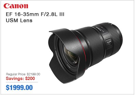 Canon EF 16-35mm USM Lens