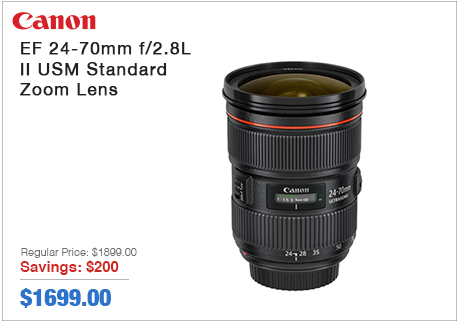 Canon EF 24-70mm II USM Zoom Lens