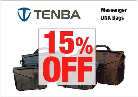 Tenba Messenger DNA Bags -- 15% OFF