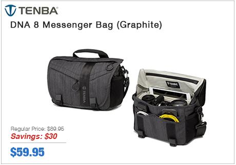 Tenba DNA 8 Messenger Bag (Graphite)