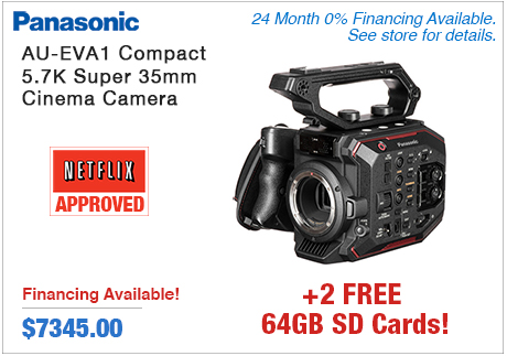 Panasonic AU-EVA1 Compact Super 35mm Cinema Camera