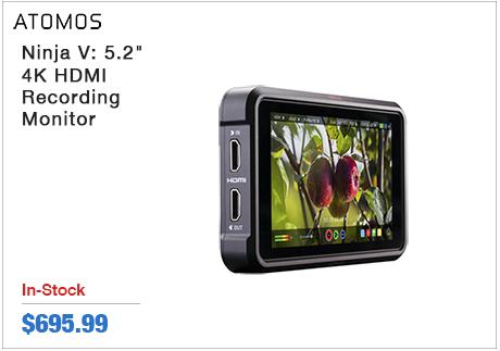 "Atomos Ninja V:5.2"" 4K HDMI Recording Monitor"