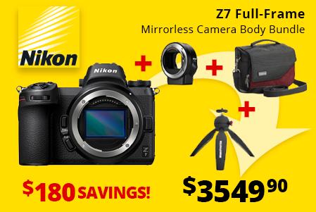 Nikon Z7 Full-Frame Mirrorless Bundle