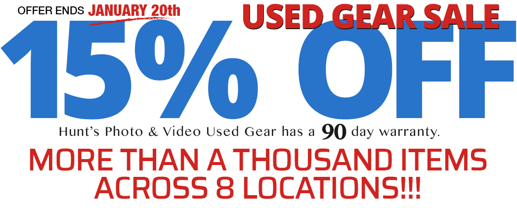 Used Gear Sale -- 15% OFF. Gear Available Online or in one of our 8 locations.