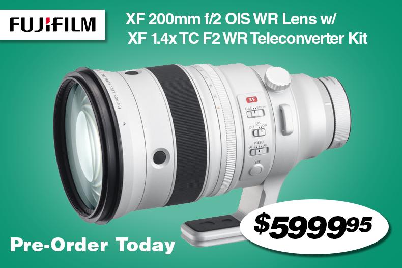 Fujifilm XF 200mm F/2