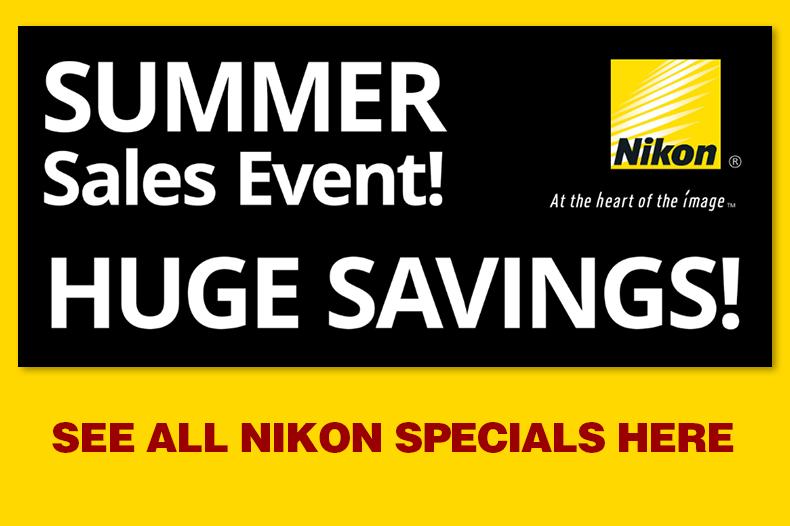 Nikon Summer Savings Event! See all.