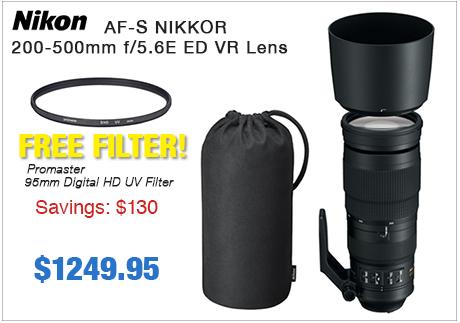 Nikon 200-500mm F4