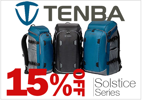 Tenba Solstice Series Bags On Sale.