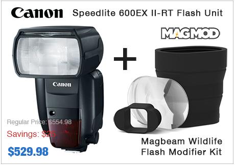Canon 600EX II Speedlite with Magmod Modifier Kit