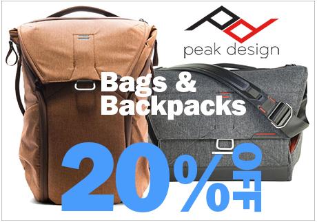 Peak Design Bags & Backpacks
