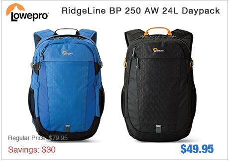 Lowepro Ridgeline BP 250 AW 24L Daypack