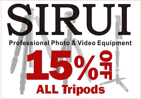 Sirui Tripods on Sale