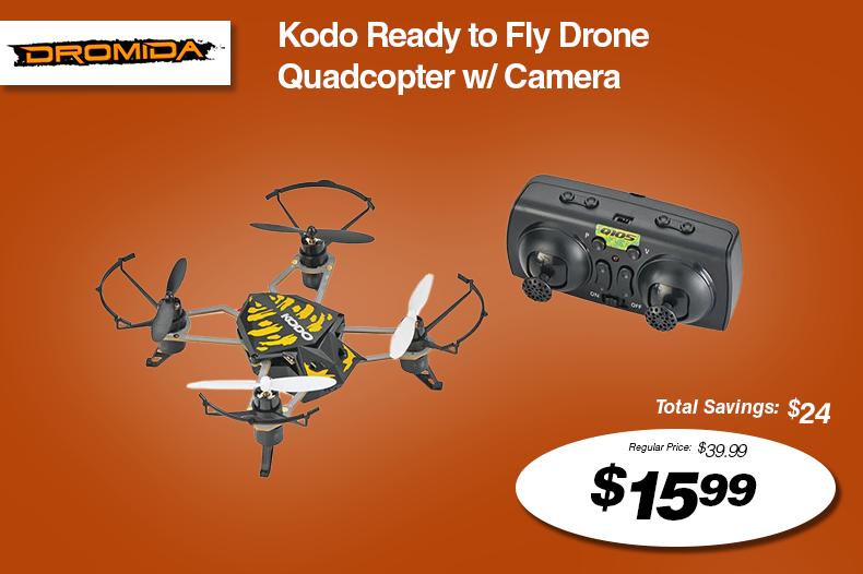 Dromida Kodo Ready to Fly Drone Quadcopter w/ Camera