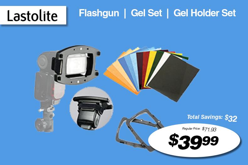 Lastolite Flashgun | Gel Set | Gel Holder Set
