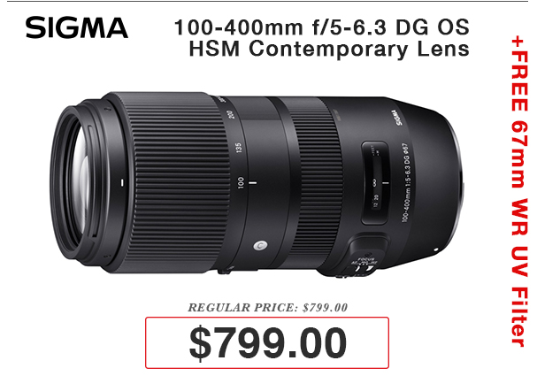 Sigma 18-35mm Lens on Sale!