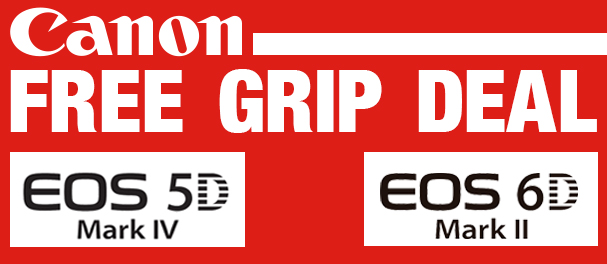 Hunt's Photo & Video Canon Free Grip Deal