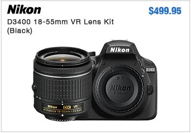 Nikon D3400 SIngle Lens Kit